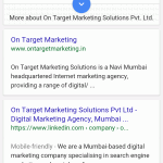 Google testing card/box style interface on desktop & mobile search results?