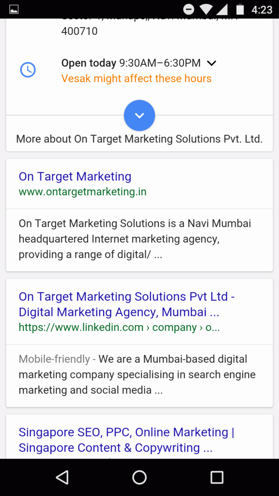 google-new-interface-for-company-search-term-mobile-SERP